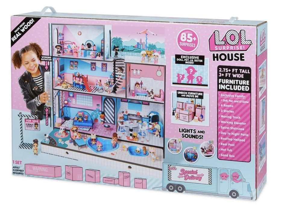 L O L Doll Surprise House Doll House Gifts For Kids Surprise