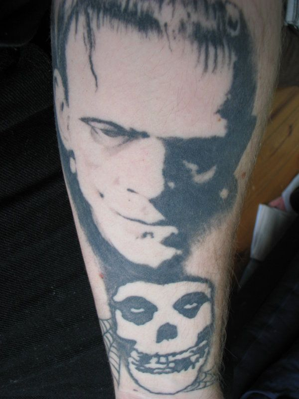 frankenstein misfits tattoo by zombiejoe13 on deviantart frankenstein zombie tattoos. Black Bedroom Furniture Sets. Home Design Ideas