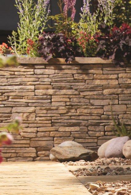 Madoc - Walling   Bradstone   Walling, Madoc, Garden edging