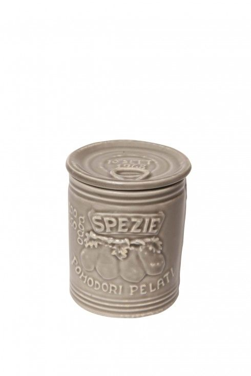 Mediterraneo - 656AC - Spezie (Spice) Container -  Clay
