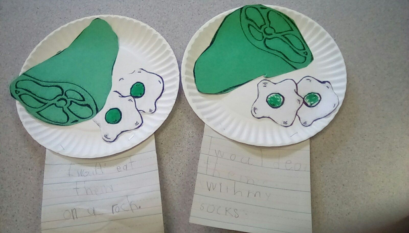 Green Eggs And Ham Partner Writing Where Would You Eat