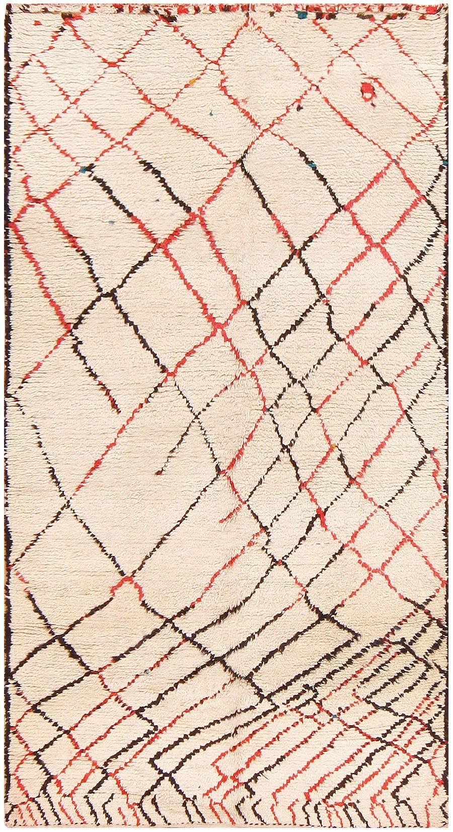 Vintage Moroccan Rug 48364 Nazmiyal Antique Rugs Berber Teppich Marokkanische Teppiche Marokkanischer Teppich