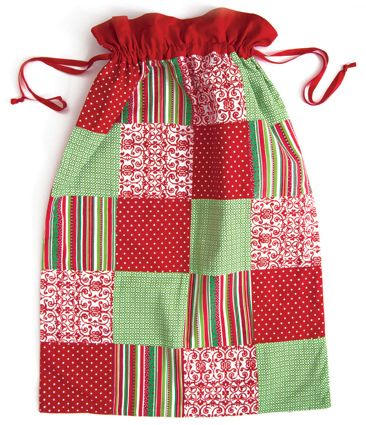 Cute Personalised Pink Girls Christmas Teddy Santa Sack stocking gift bag Xmas