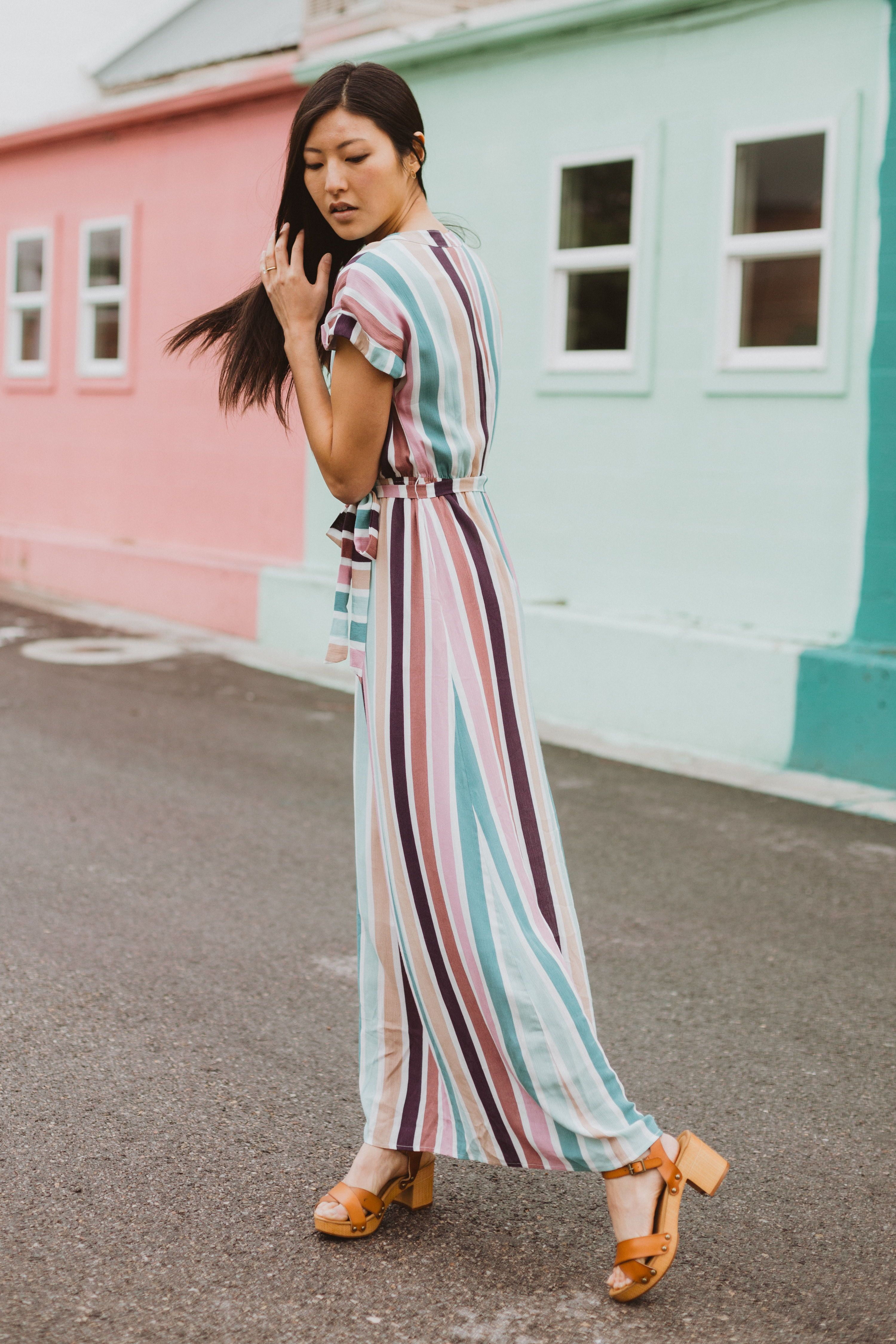 The Cha Cha Striped Maxi Dress Is As If All Your Favorite Things Came Together As A Dress It Is Nursing Fri Pretty Dresses For Teens Pretty Dresses Maxi Dress [ 4500 x 3000 Pixel ]
