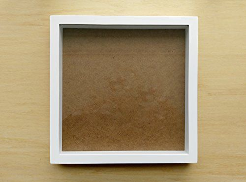 White Shadow Box Frame Holds 12x12 Scrap Book Page Check This