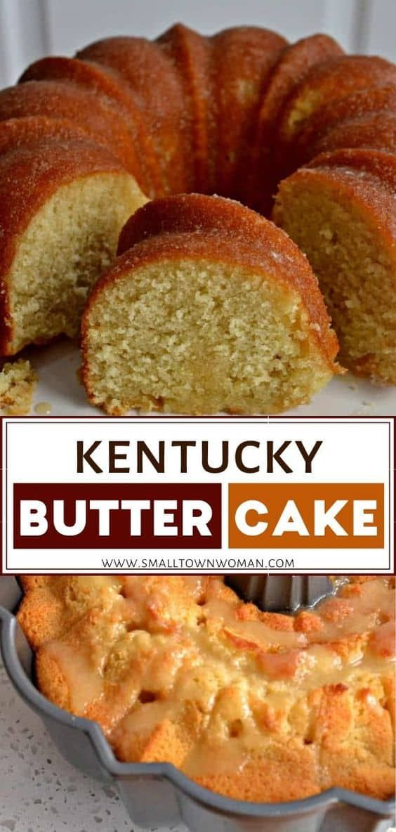 Kentucky Butter Cake | Small Town Woman