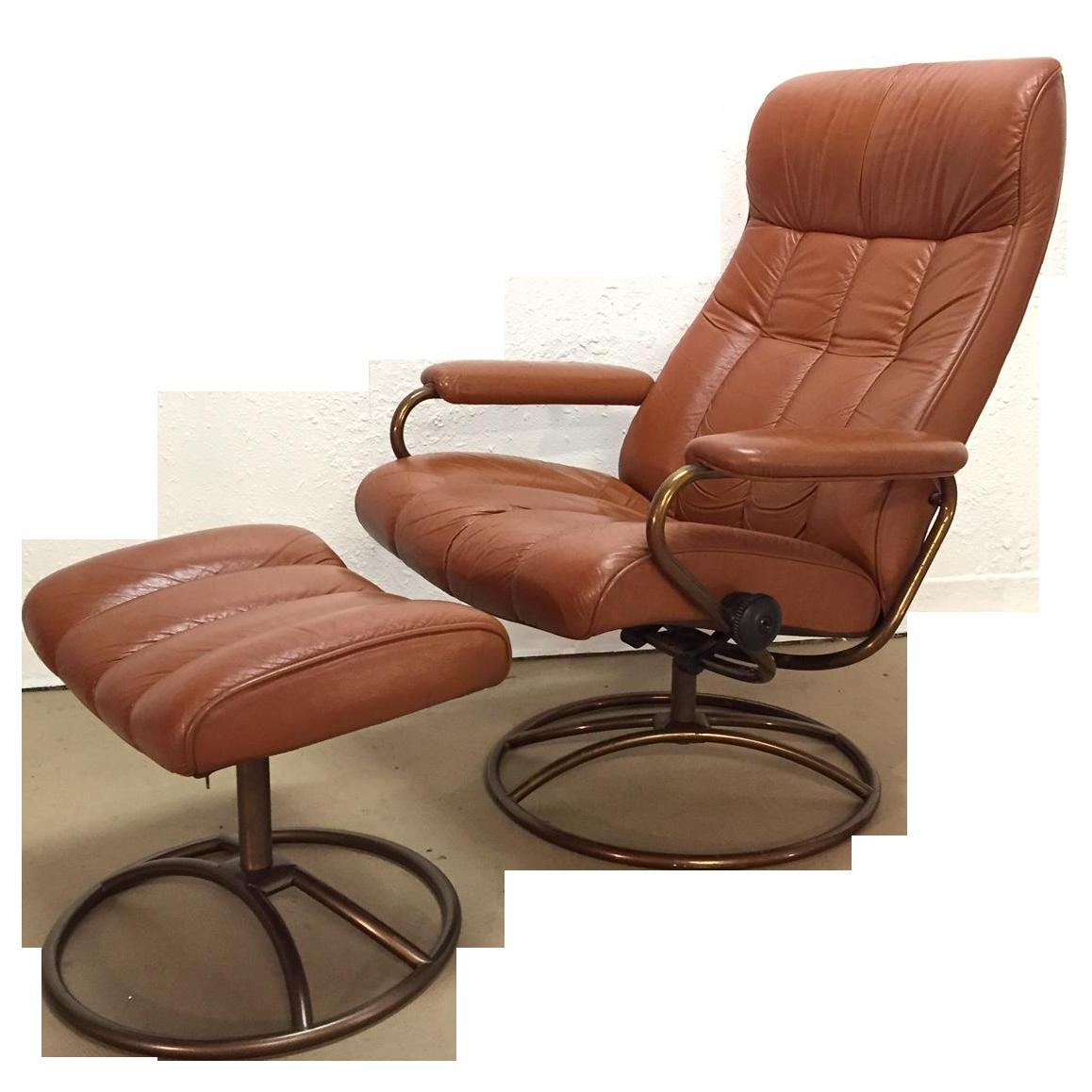 Vintage Ekornes Stressless Chair And Ottoman Stressless Chair Chair And Ottoman Set Chair