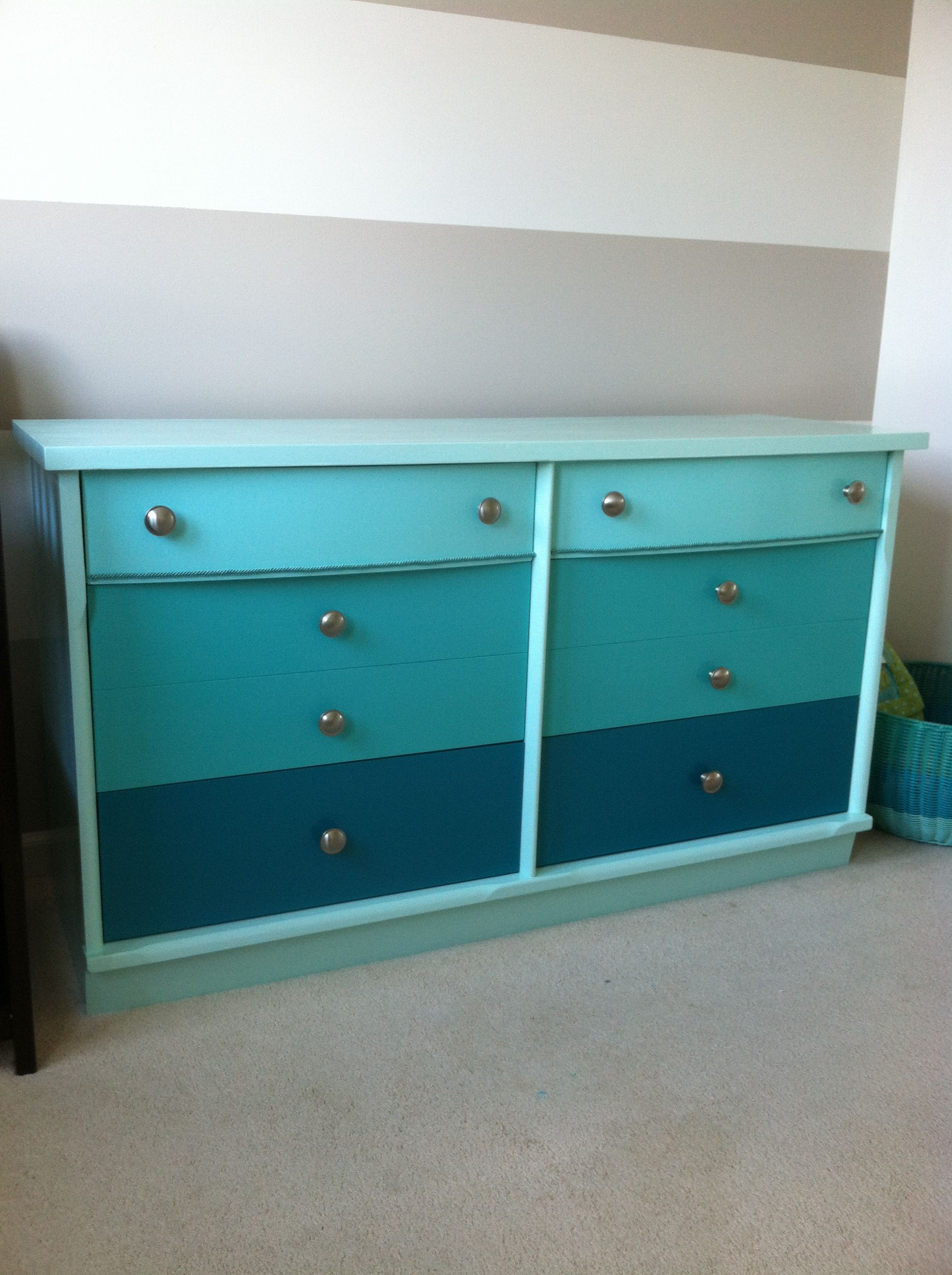 Repainted Dresser For Baby Boy S Room
