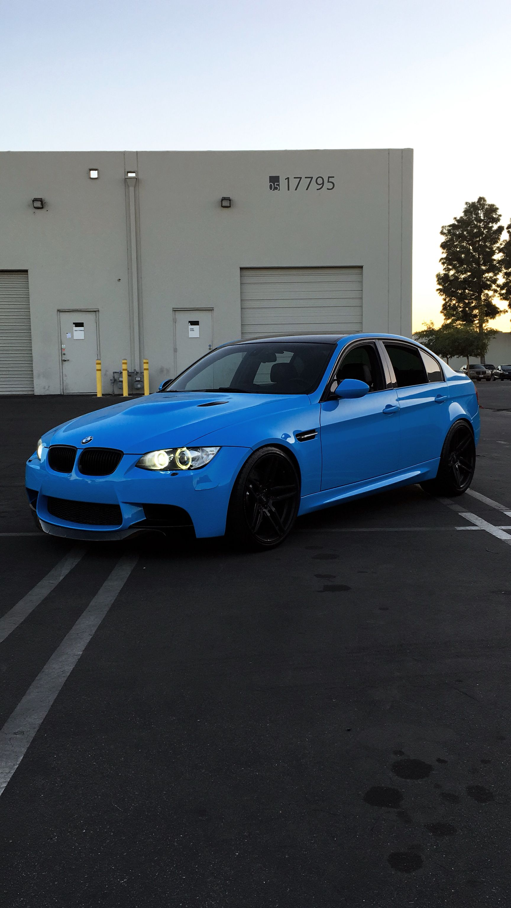 Wrapped My Bmw In Baby Blue With Images Bmw Dream Cars
