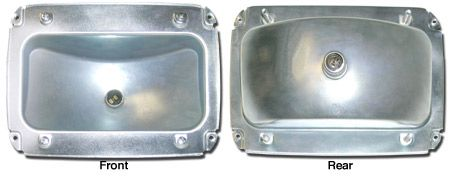 65-66 taillight housings 21.95 ea California Mustang Parts & Acc cal-mustangs.co