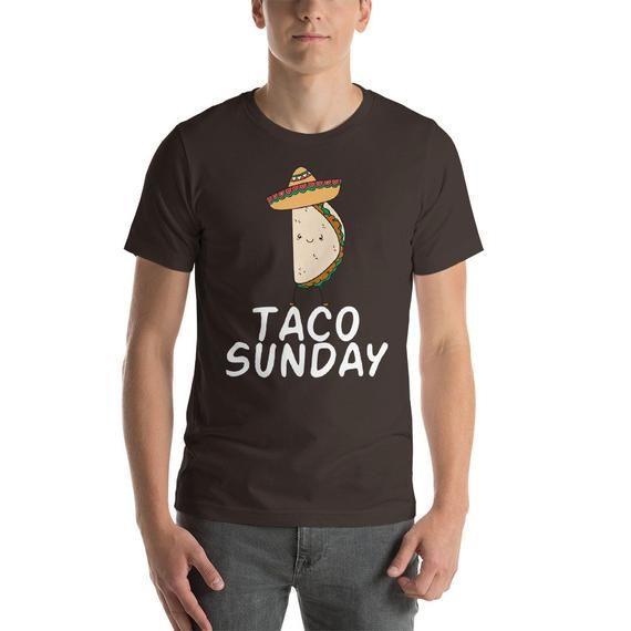 Taco Shirt - Taco Sunday Shirt - Tacos Shirt - Tacos - Funny Taco Shirt - Funny Tacos Shirt - Taco Tuesday - Feed Me Tacos #tacotuesdayhumor