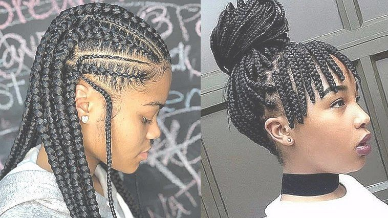 50 Best Short Natural Hair Cornrow Styles Trends 2020 With Images