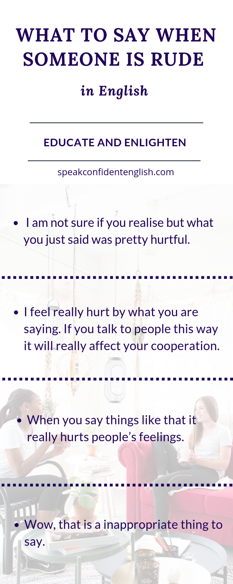 What to Say When Someone Is Rude in English with 4 Simple Strategies