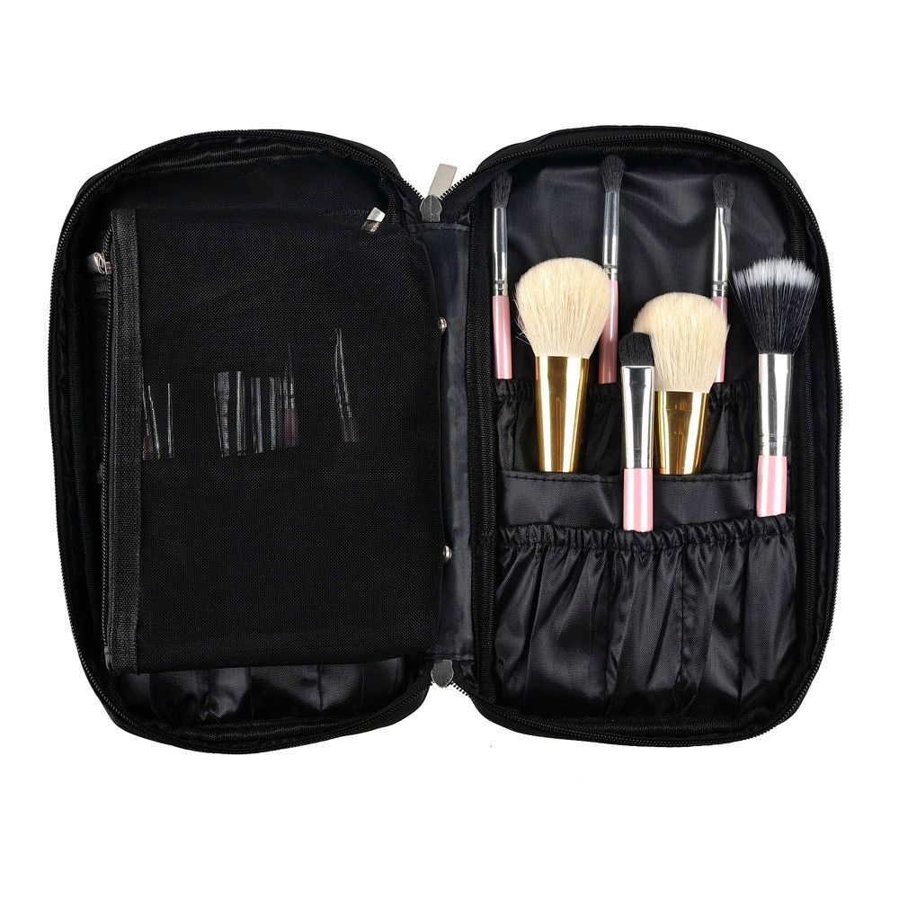 2017 Pro Makeup Brush Bag Cosmetic Tool Brush Organizer