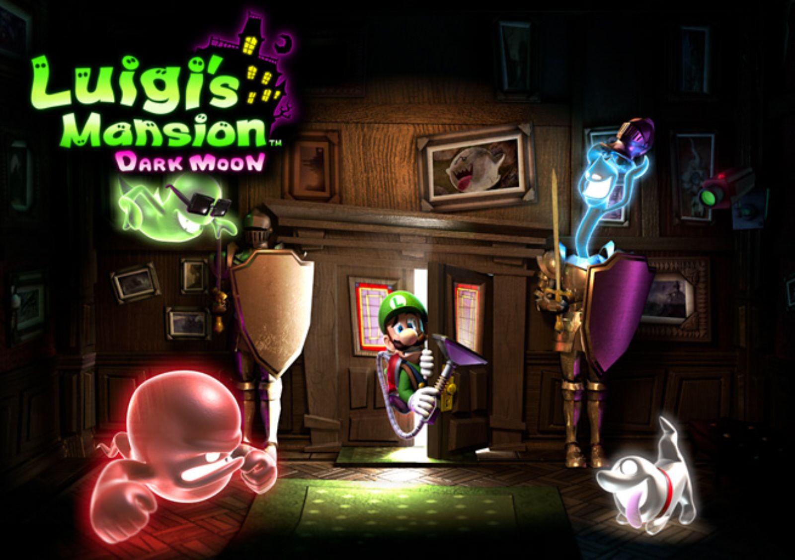 Luigi S Mansion 2 Dark Moon Concept Art Luigi S Mansion
