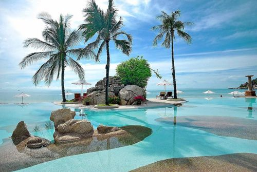 Resort Infinity Pool, Thailand . . . I want to go!