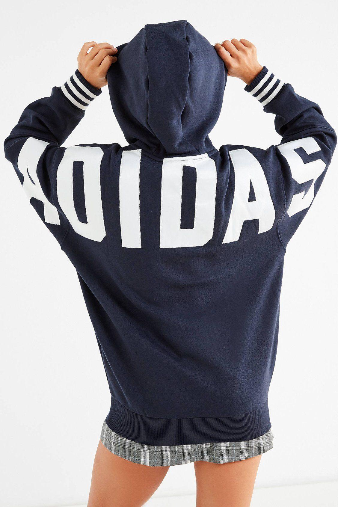 aec6ae2031a5e adidas Originals Fuzzy Hoodie Sweatshirt