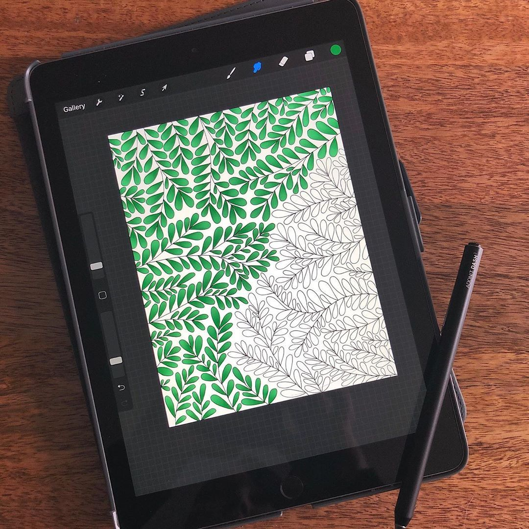 Coloring Book Coloring Books Boost Creativity Tablet