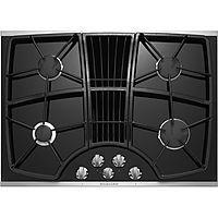 Kitchenaid Kgcd807xss 30 4 Burner Downdraft Cooktop Stainless Steel Gas Cooktop Downdraft Cooktop Cooktop