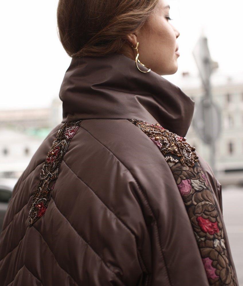 01d9d77cb484c женскя болоньевая куртка с меховыми вставками | Кардиган в 2019 г ...