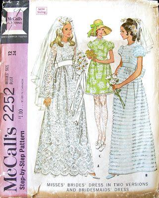 mccalls 2252 bridal gown