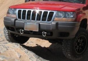 99 04 Jeep Grand Cherokee Wj Front Hitch Mount By Fawkes Fab 04