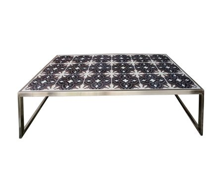 Purchase Moroccan Style Tile Top Outdoor Coffee Tables Online - Moroccan outdoor coffee table