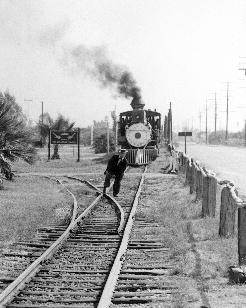 Buster keaton and train 1956 train rides knotts berry