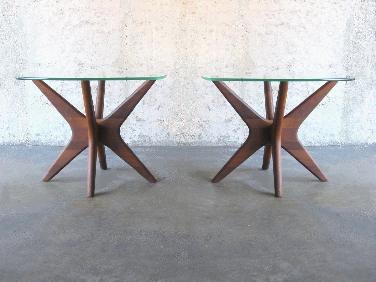 Pair 60's Adrian Pearsall end tables by SelectModern