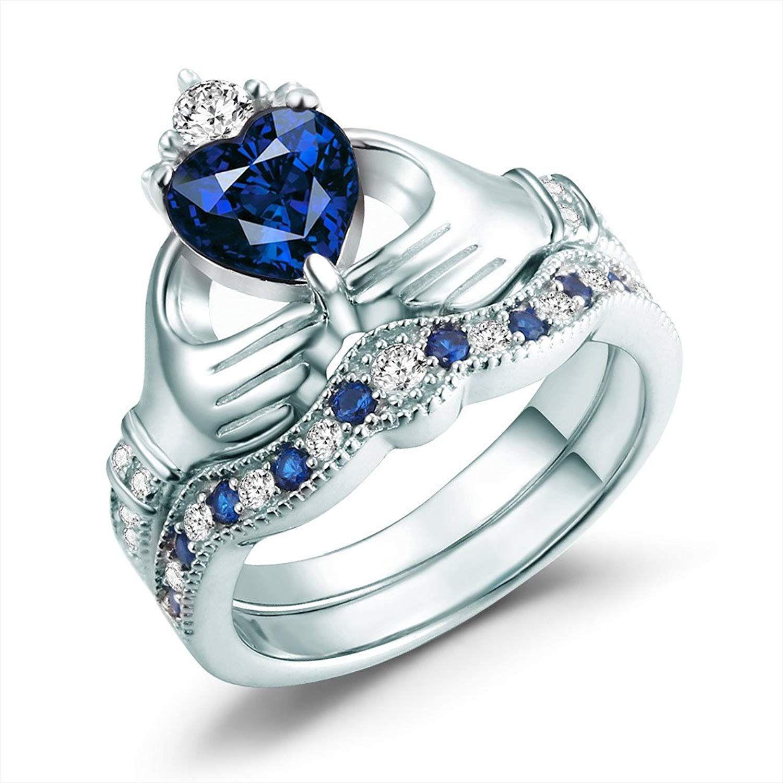 A Claddagh Birthstone Ring Shows Love Friendship 45 Unique