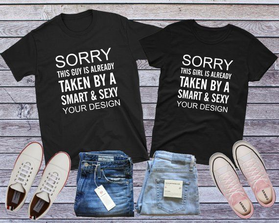 24f53011 Custom Couple Shirt, Matching Couple, Funny Couple Shirts, His and Her,  Career Shirt, Job Shirt, Anniversary Gift, Couple Gifts, Profession