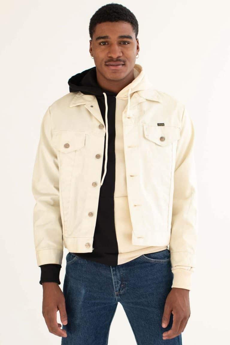 Vintage White Wrangler Denim Jacket 914 Ragstock Denim Jacket White Wrangler Jackets [ 1152 x 768 Pixel ]