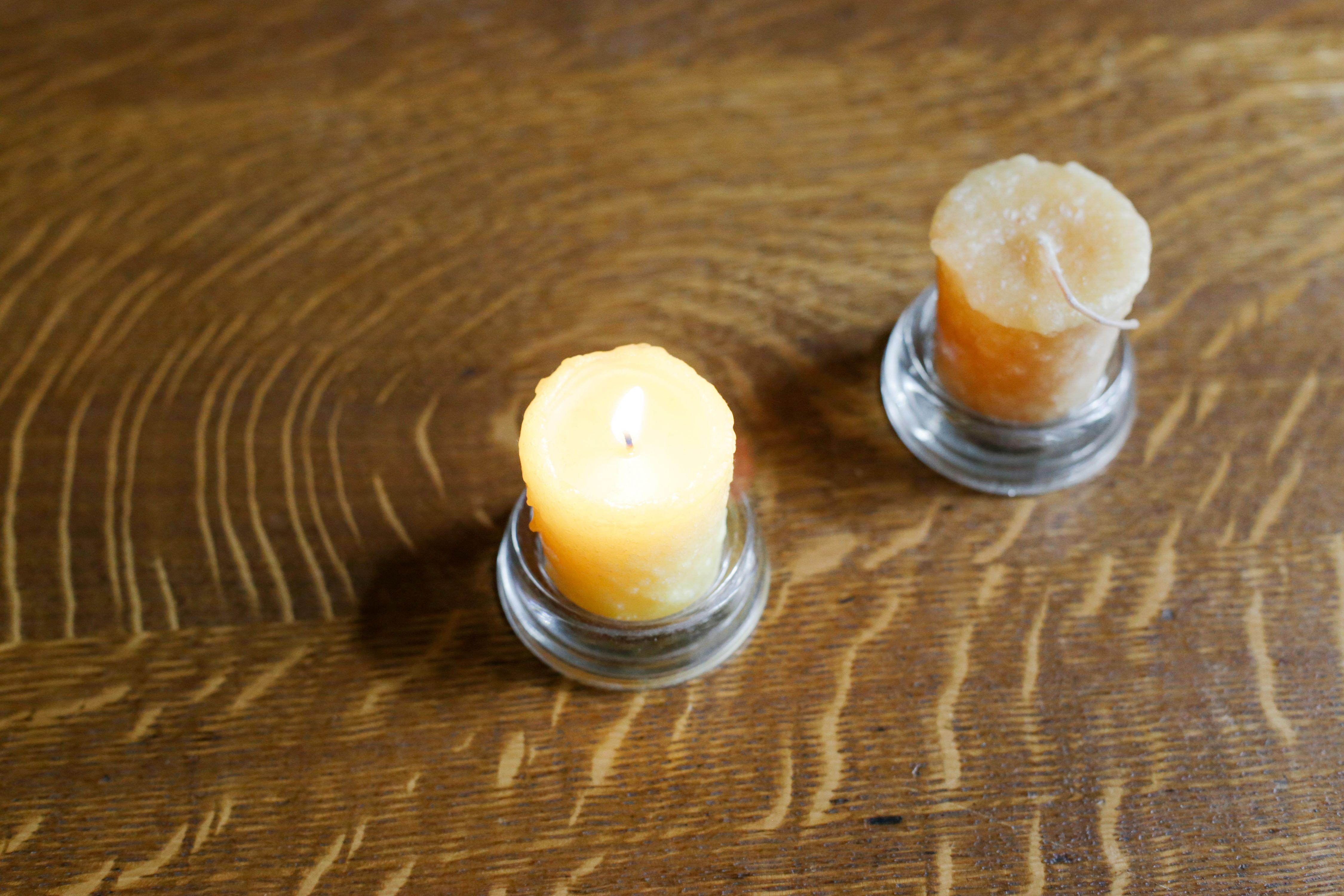 How to remove wax remove wax dining table candles wood