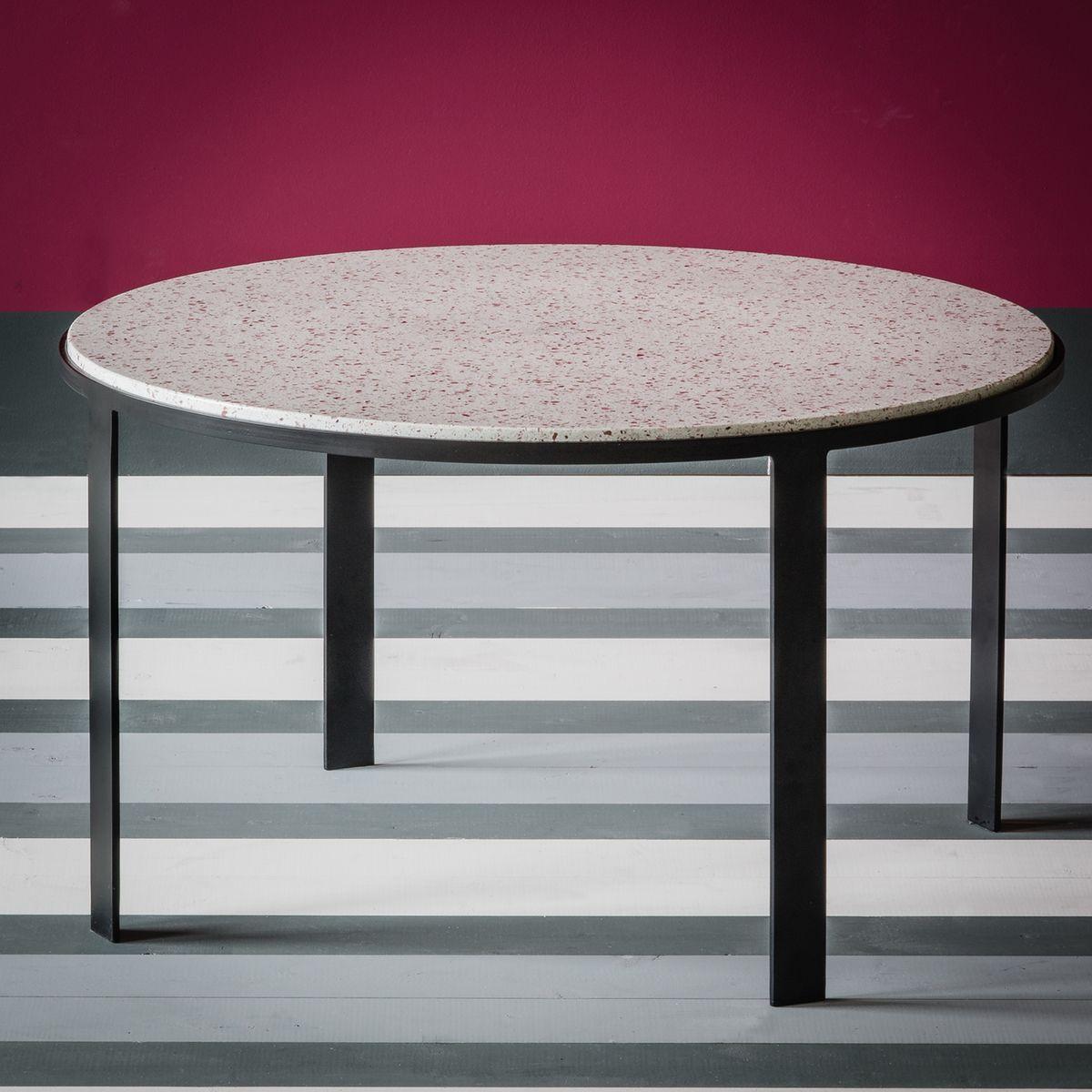 Table basse en terrazzo maison sarah lavoine blanc Maison Sarah Lavoine | La Redoute