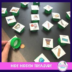 DIY Bottle Cap Game For Speech Therapy