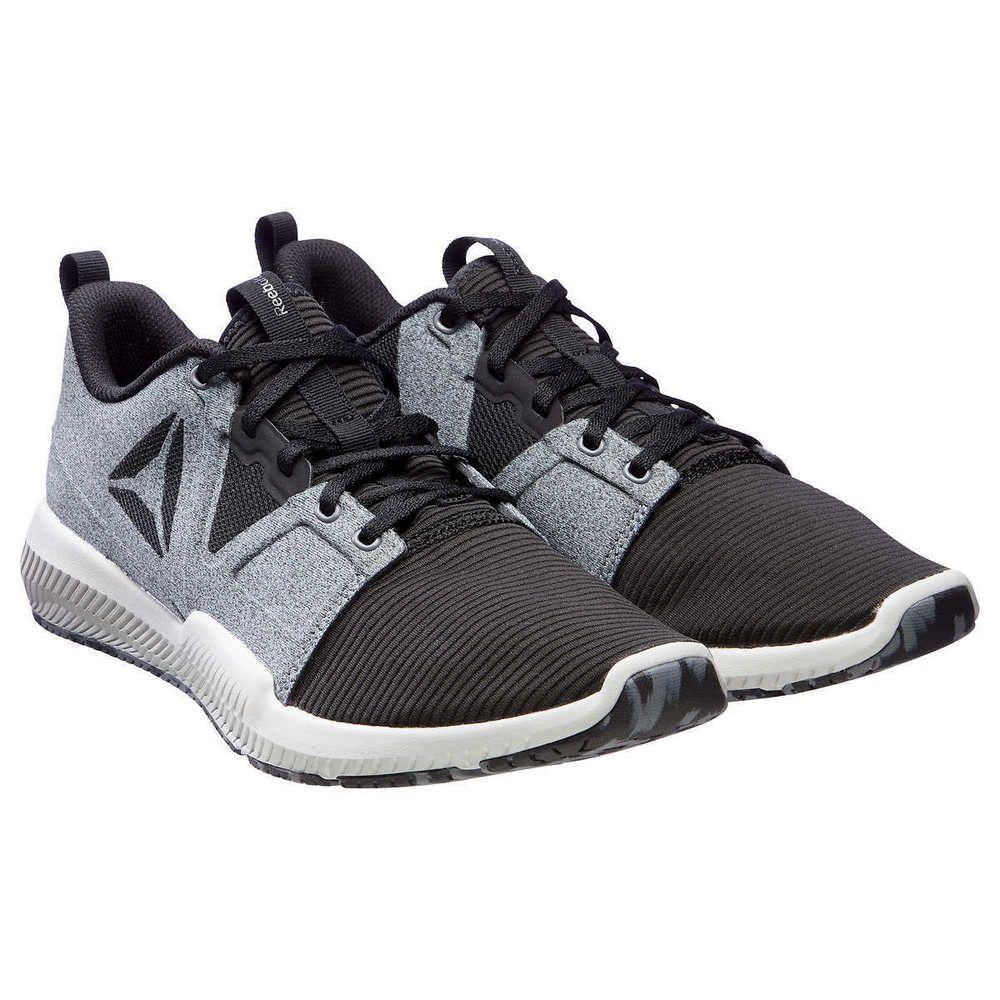 95e0e45951b3  NEW  Reebok Men s Hydrorush TR Runner Athletic Running Shoes MED Grey  CN7005