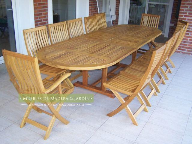 Mesa Ovalada  Mesas in 2019  Table Outdoor tables