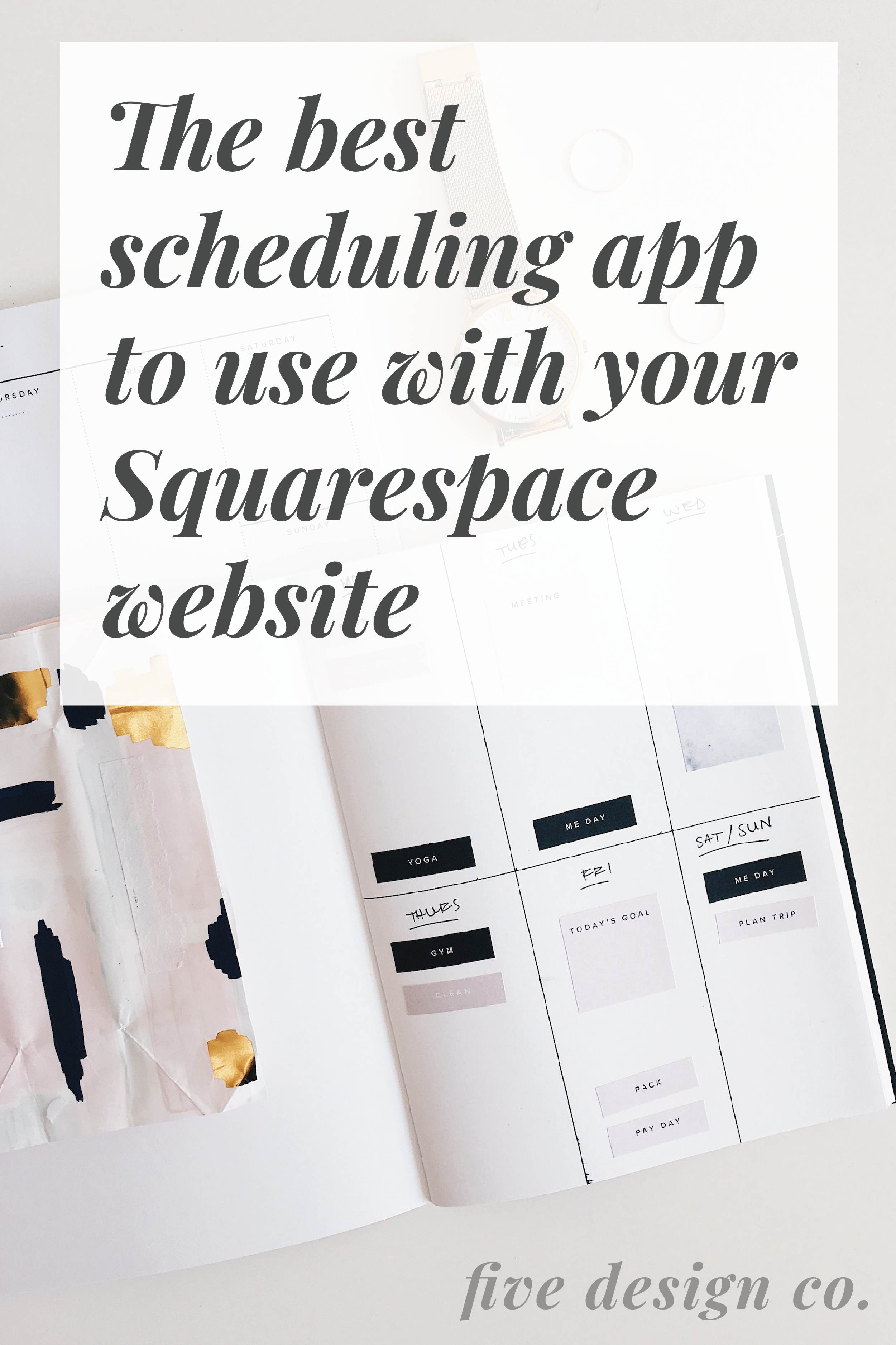 The Best Scheduling App for Your Squarespace Website Web