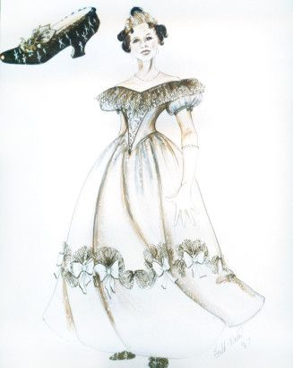 Into The Woods Cinderella Costume Design By Ann Hould