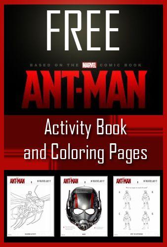 Utah Sweet Savings FREE Ant Man Coloring Pages Activity Sheets