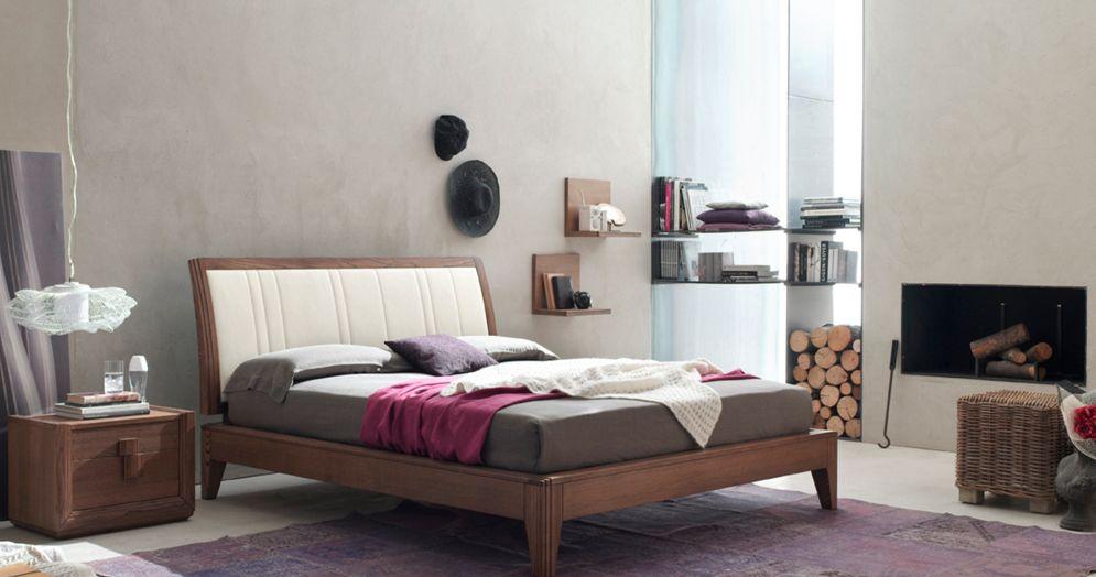 letto #camera #zonanotte #comfort #funzionale #tradizionale #legno ... - Armadio In Legno Tradizionale