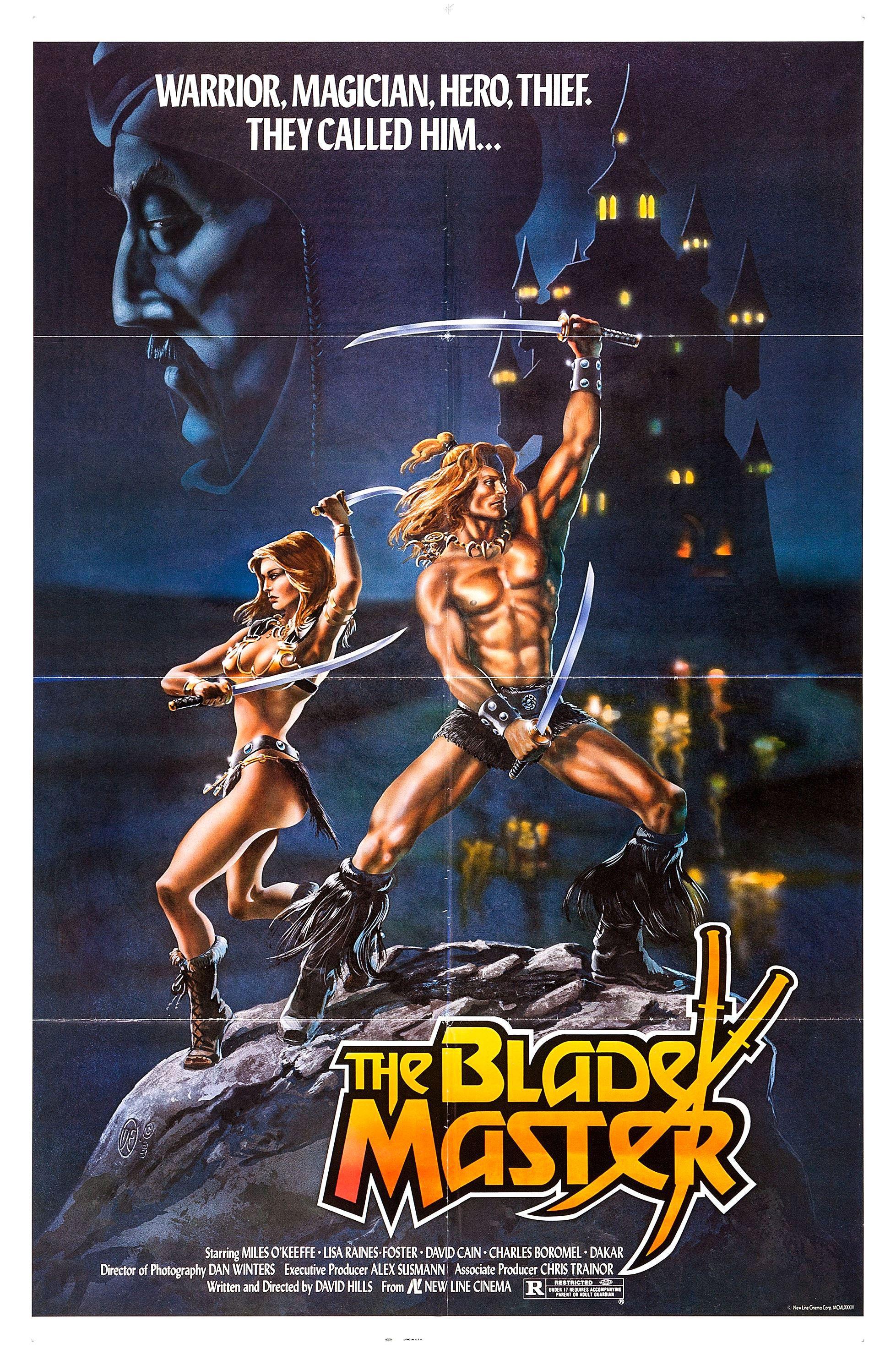 The Blade Master 1982 Ator 2 L Invincibile Orion Original