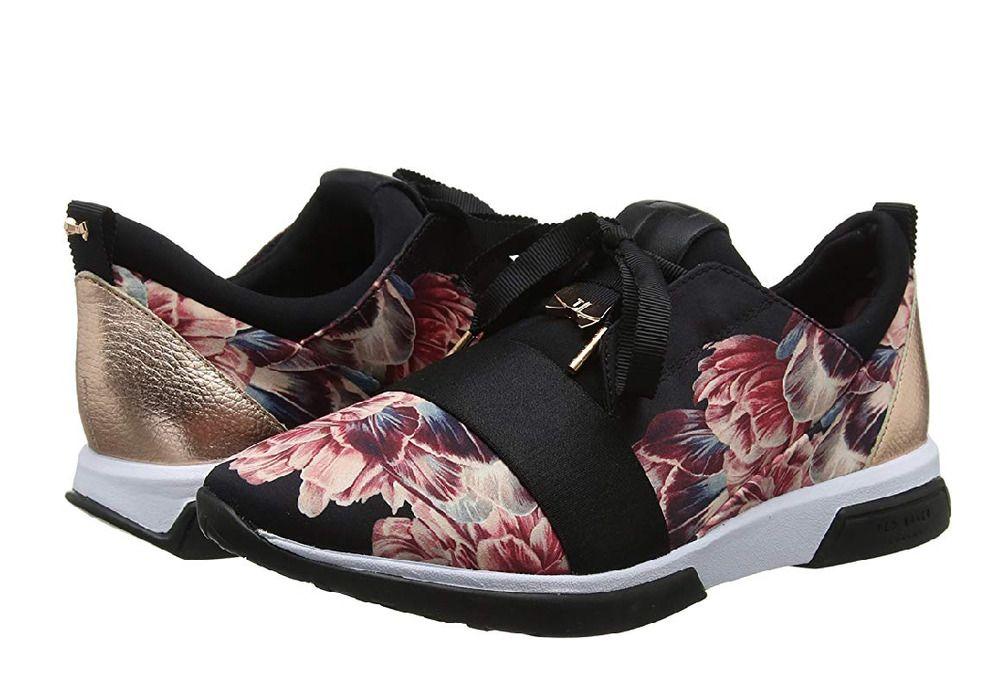 6eff7b3fe06 adidas Originals X FARM Women s Stan Smith Trainers Chita Floral Print  Sneakers. Ted Baker Women  s Cepa Sneakers flower print