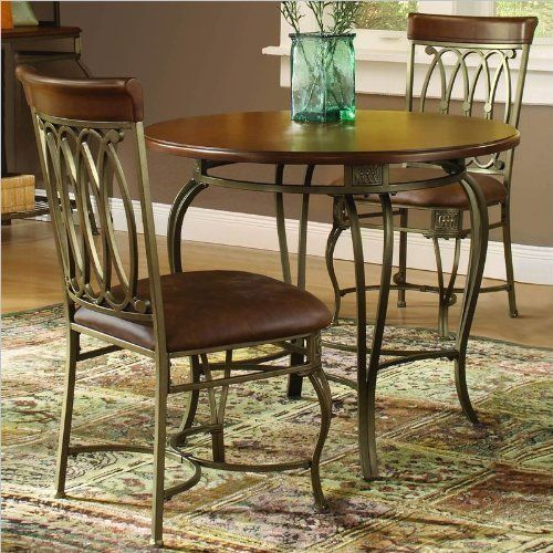 Hillsdale Montello Round Inch Diameter Piece Table Dining Set - 36 diameter dining table