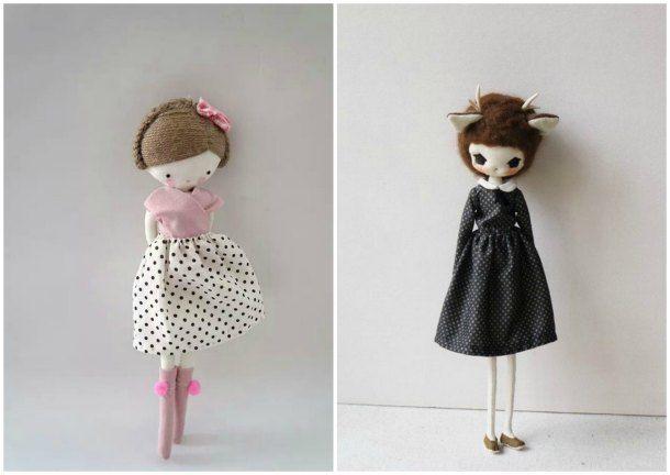 Modelos de muñecas bonitas de tela (3)