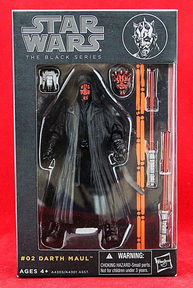 "New /& Unopened Star Wars Black Series 6/"" DARTH MAUL Action Figure - Hasbro"