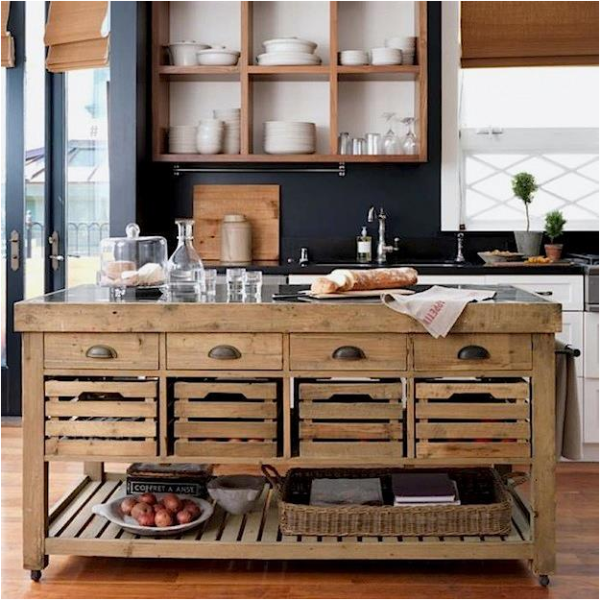 Rustic Elements For Your Kitchen