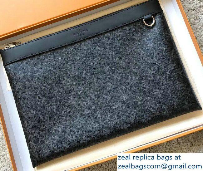 7f2bab721d6c Louis Vuitton Monogram Eclipse Canvas Pochette Apollo Bag M62291 2018