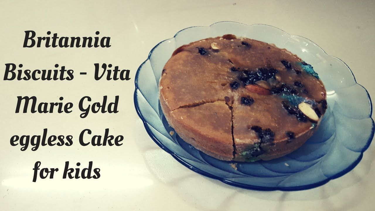 Make Britannia Biscuits Vita Marie Gold Eggless Cake For Your Girlfriend On This Valentine S Day Eggless Cake Cooker Cake Cupcake Recipes