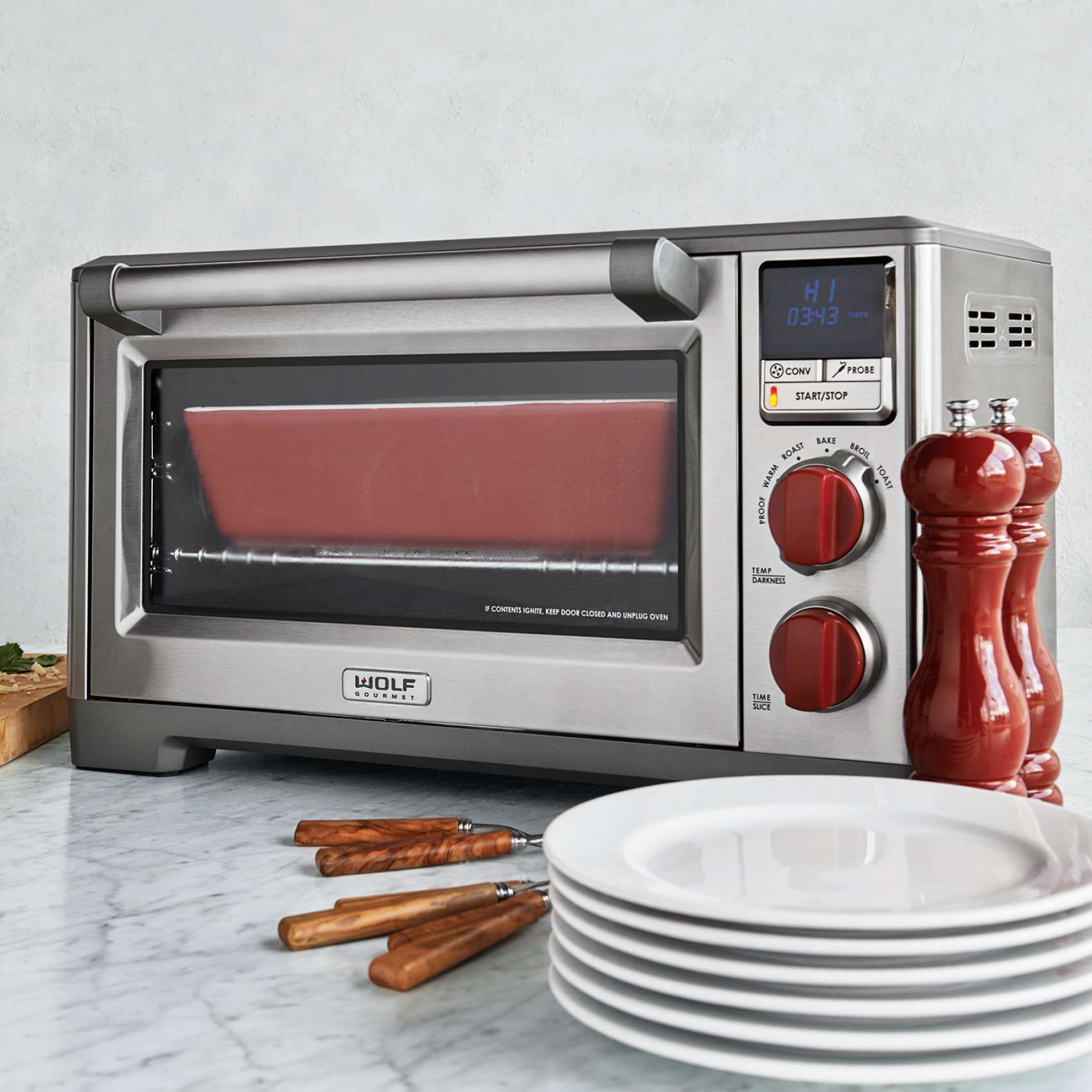 Wolf Gourmet Countertop Oven Sur La Table Wolf Gourmet